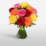 colourful bunches